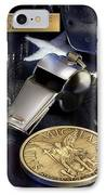 St Michael Law Enforcement IPhone Case