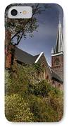 St. Peter's Of Harpers Ferry IPhone Case by Lois Bryan
