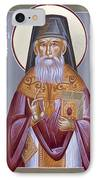 St Porphyrios The Kavsokalyvitis IPhone Case by Julia Bridget Hayes