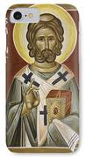 St Robert IPhone Case by Julia Bridget Hayes
