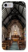 St Tudcluds Church IPhone Case by Adrian Evans