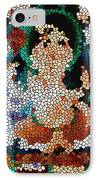Stained Glass Ganapati IPhone Case