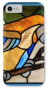 Stained Glass Parrot Window IPhone Case by Thomas Woolworth