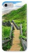 Staircase To Gem IPhone Case by Lourry Legarde