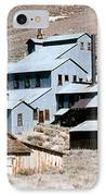 Standard Mill At Bodie Panorama IPhone Case by Barbara Snyder