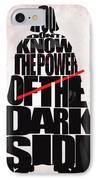 Star Wars Inspired Darth Vader Artwork IPhone Case