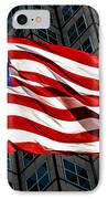 Stars And Stripes IPhone Case by Rene Triay Photography