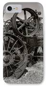 Steam Tractor - Molson Ghost Town IPhone Case by Daniel Hagerman