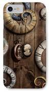 Steampunk - Clock - Time Machine IPhone Case