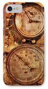Steampunk - Gauges IPhone Case
