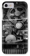 Steampunk - Serious Steel IPhone Case