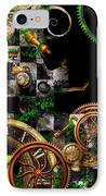 Steampunk - Surreal - Mind Games IPhone Case