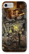 Steampunk - The Turret Computer  IPhone Case