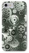 Steel Gears IPhone Case