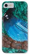 Stellar's Jay IPhone Case by Lloyd Alexander