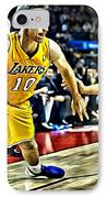 Steve Nash In Action IPhone Case