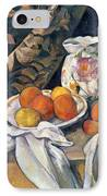 Still Life With Drapery IPhone Case by Paul Cezanne