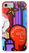 Still Life With Picasso's Dream IPhone Case