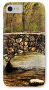 Stone Bridge In The Ozarks IPhone Case by Benjamin Yeager