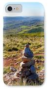 Stone Cairns IPhone Case