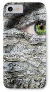 Stone Face IPhone Case by Semmick Photo