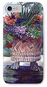 Stone Garden Ornament IPhone Case by David Lloyd Glover