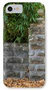 Stone Wall And Gate IPhone Case by Rich Franco