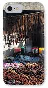 Street Vendor Selling Rosaries IPhone Case