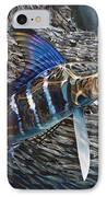 Striped Gem IPhone Case by Jason Mathias