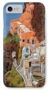 sul mare Greco IPhone Case by Guido Borelli