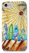 Summer Break By Madart IPhone Case by Megan Duncanson