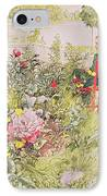 Summer In Sundborn IPhone Case by Carl Larsson