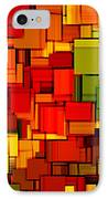 Summer Modern Abstract Art Xviii IPhone Case by Lourry Legarde