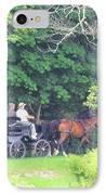 Summer Stroll IPhone Case by Elizabeth Dow