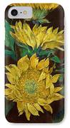 Sunflowers IPhone Case by Michael Creese
