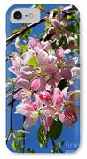 Sunlight On Spring Blossoms IPhone Case