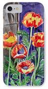 Sunlit Poppies IPhone Case