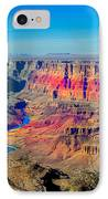 Sunset At South Rim IPhone Case by Robert Bales