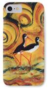 Sunset Ballet IPhone Case