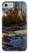 Sunset Snow IPhone Case by Baywest Imaging
