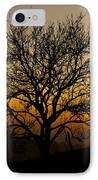Sunset Tree IPhone Case by Anne Gilbert