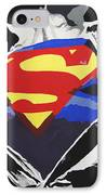 Superman IPhone Case by Erik Pinto