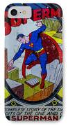 Superman IPhone Case by Mitch Shindelbower