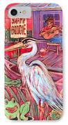 Swamp Boogie IPhone Case by Robert Ponzio