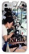 Sweatshop. IPhone Case by Oscar Williams
