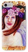 Sweet Angel IPhone Case by Genevieve Esson