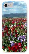 Sweet Peas Forever IPhone Case