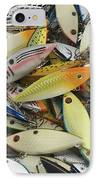 Tackle Box Tangle IPhone Case by Jerry McElroy