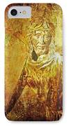 Takes Up The Cross  Via Dolorosa 2 IPhone Case by Lianne Schneider