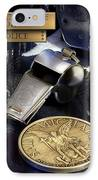 Tampa Police St Michael IPhone Case by Gary Yost